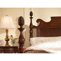 AMERICAN CHERRY Bedford Pineapple Post King Bed