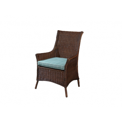 Cottage Wicker Arm Chair