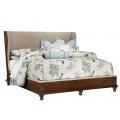 Upholstered Shelter King Bed