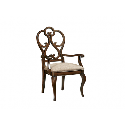Scroll Dining Arm Chair