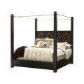 Leslie's Metal Canopy King Bed