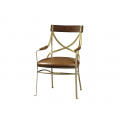 Starboard Metal Arm Chair