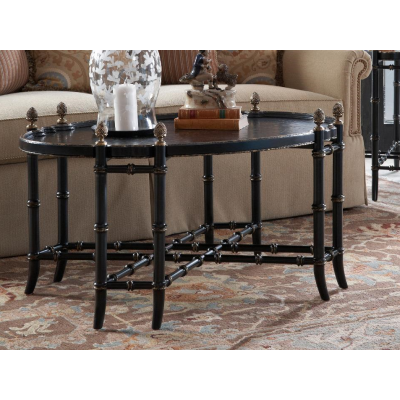 New London Chinoiserie Cocktail Table