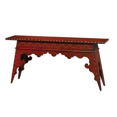 Beautiful Friendship Moroccan Console Table