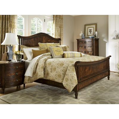 Panel Sleigh King Bed