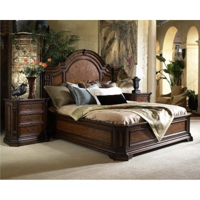 King Mantle Bed
