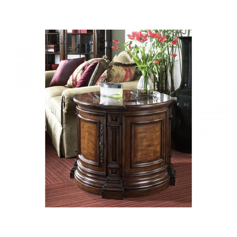 Round Commode Table LuxFam Luxury Furniture Accessories