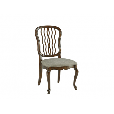 Carved Back Dining Side Chair