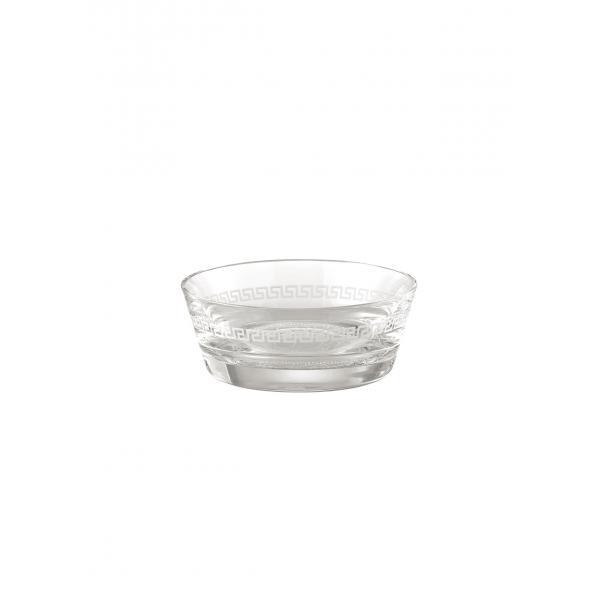 Medusa Crystal  Clear  Dish 12 cm