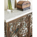 Volute Metal Console
