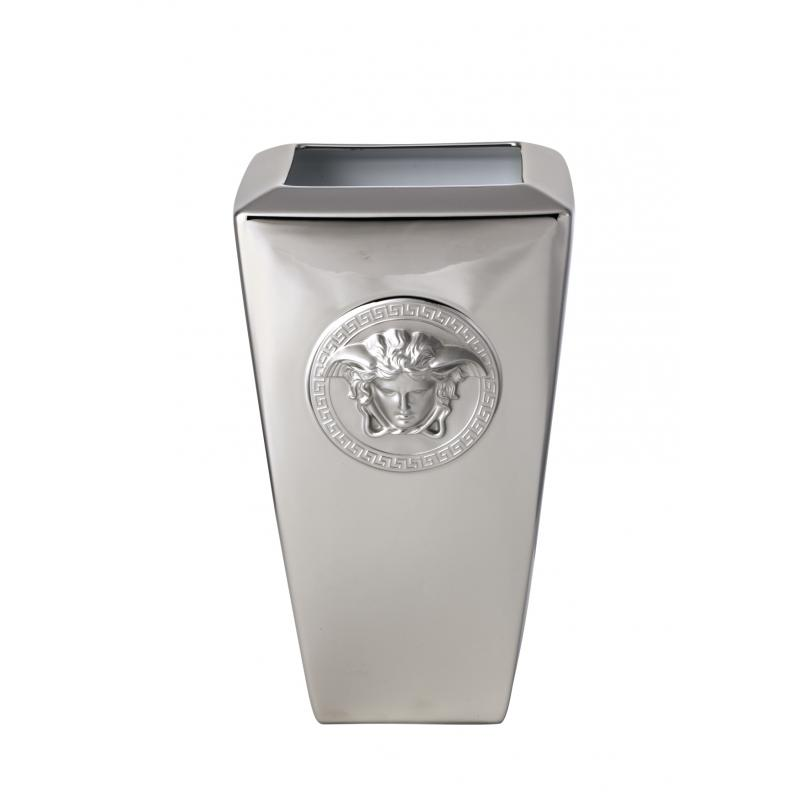 Versace Medusa Platin Vase 32 Cm Luxfam Luxury Furniture