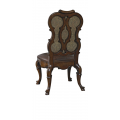 Upholstered Splat Back Side Chair