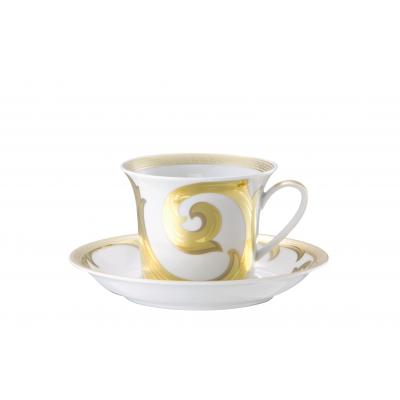 Ikarus  Arabesque gold  Cappuccino cup & saucer