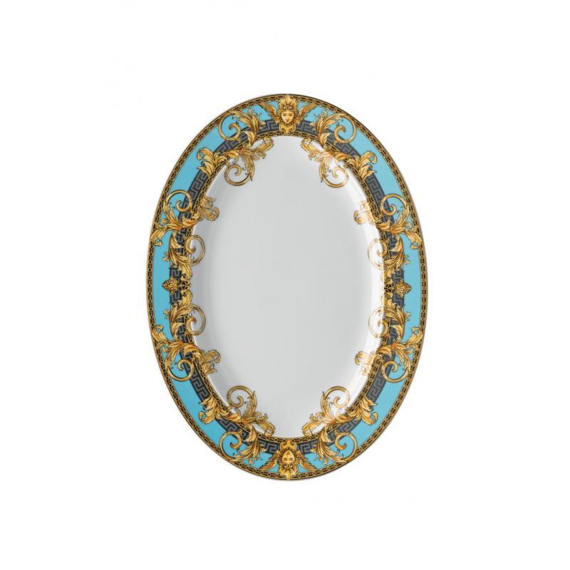 Versace Prestige Gala Bleu Platter 34 cm