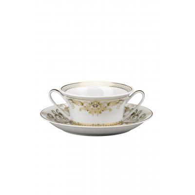 Versace  Medusa Gala  Creamsoup cup & saucer