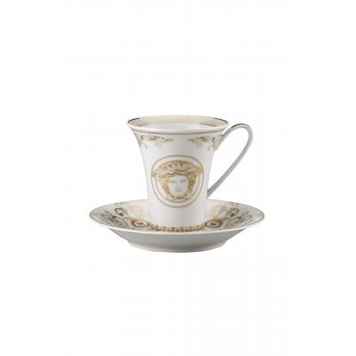 Versace Medusa Gala Cup & saucer 4 tall