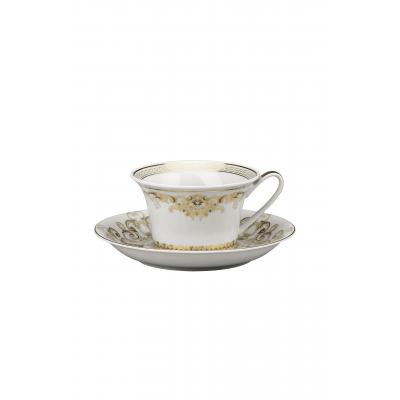 Versace  Medusa Gala  Cup & saucer 4 low