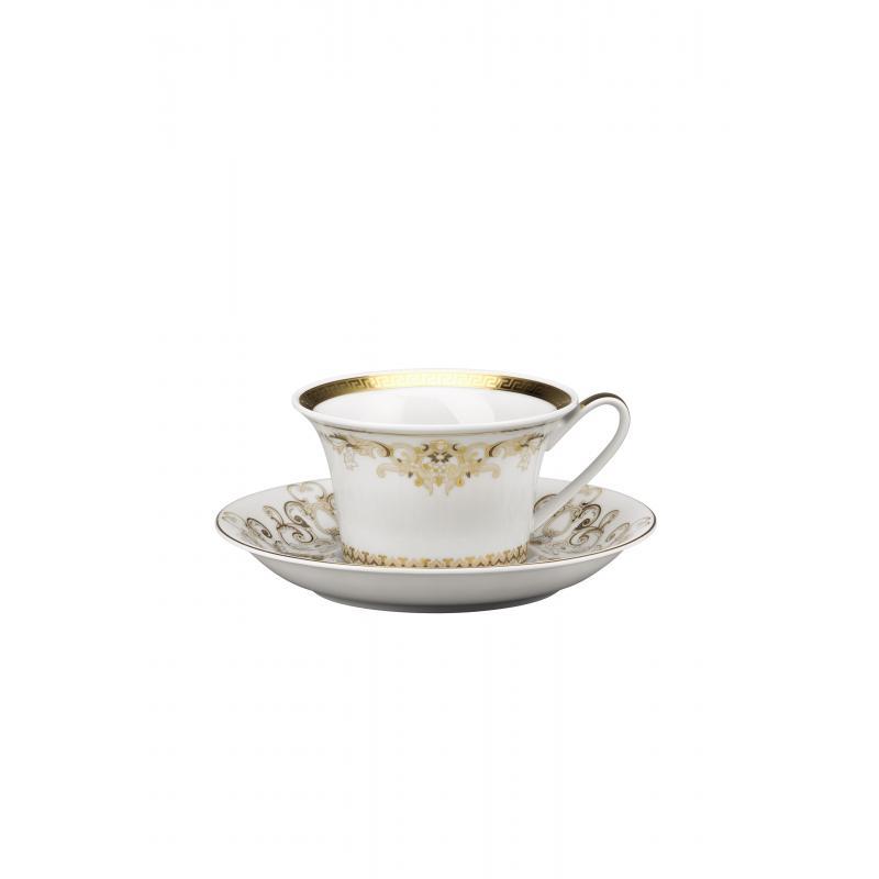 Versace Medusa Gala Gold Cup & saucer 4 low