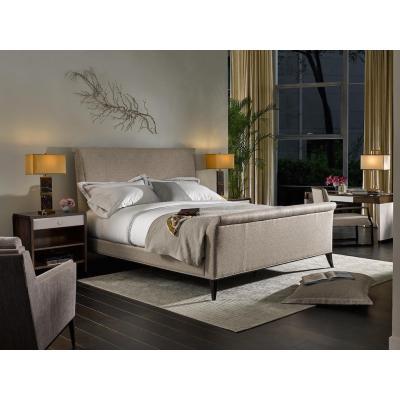 Volutes King Upholstered Bed