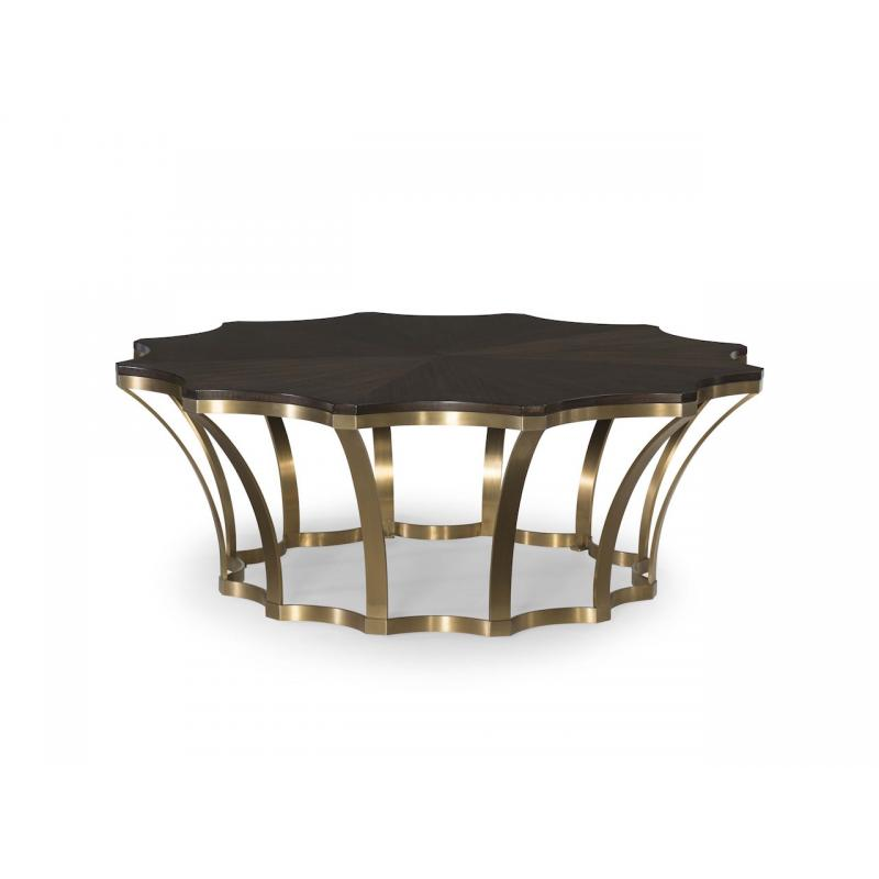 Caprice Wood Top Cocktail Table