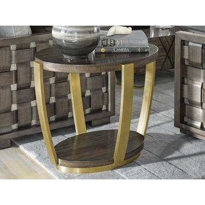 SORIEE OVAL END TABLE
