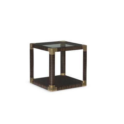 Bon Ton Square End Table