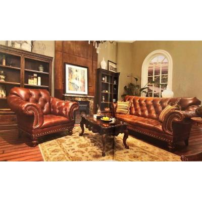 King Arthur Leather sofa