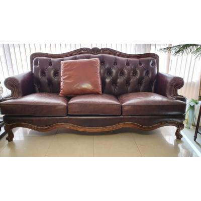 Buckingham Leather Sofa