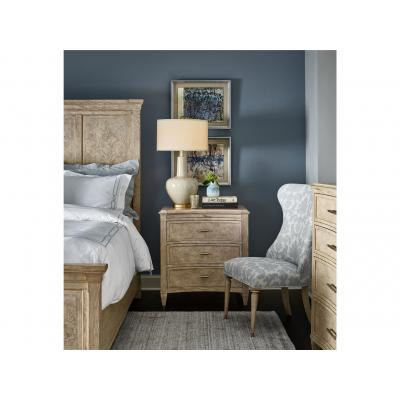 Kerala Three Drawer Nightstand