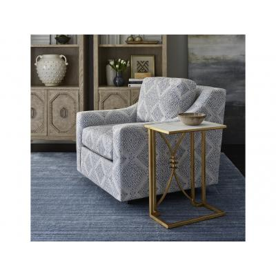 Lallan Gold Leaf Accent Table