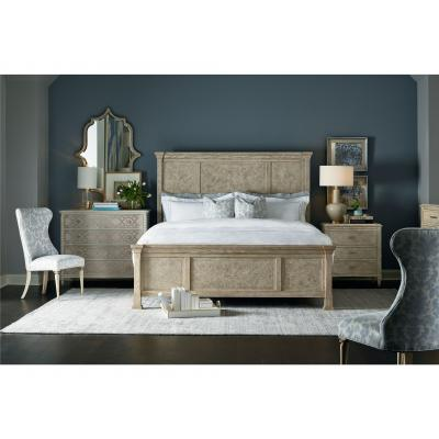 Mirna King Panel Bed