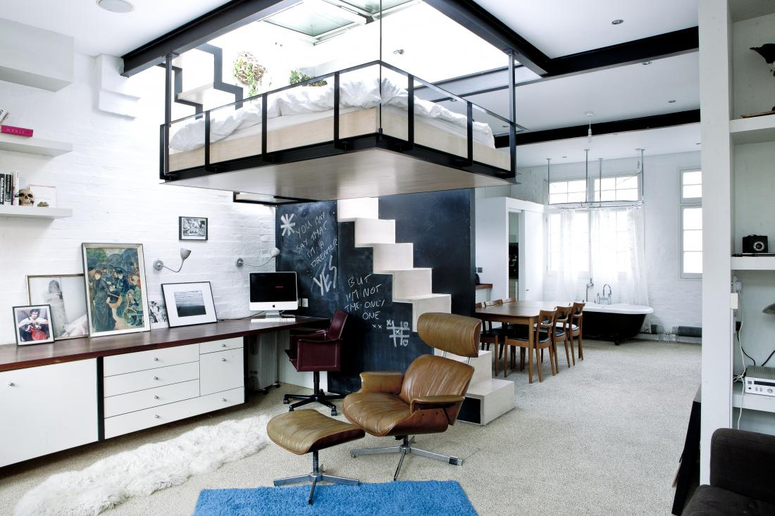 Inviting London Domestic Gloats Brilliantly Suspended Living ...