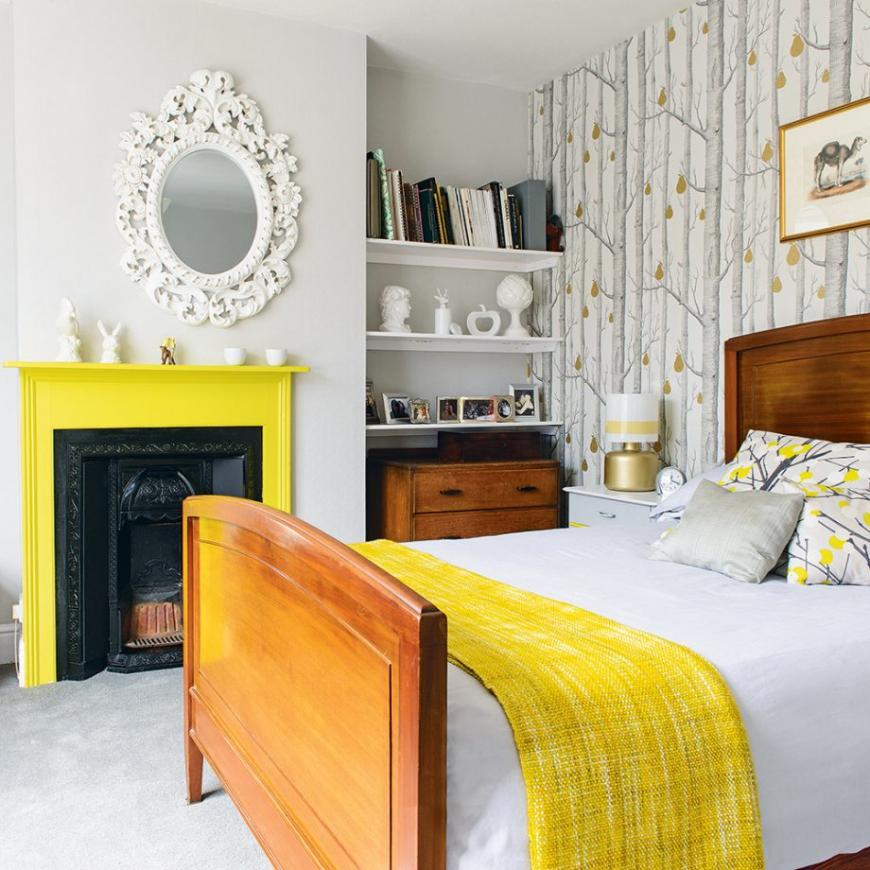 Yellow room thoughts for bright mornings and sweet dreams