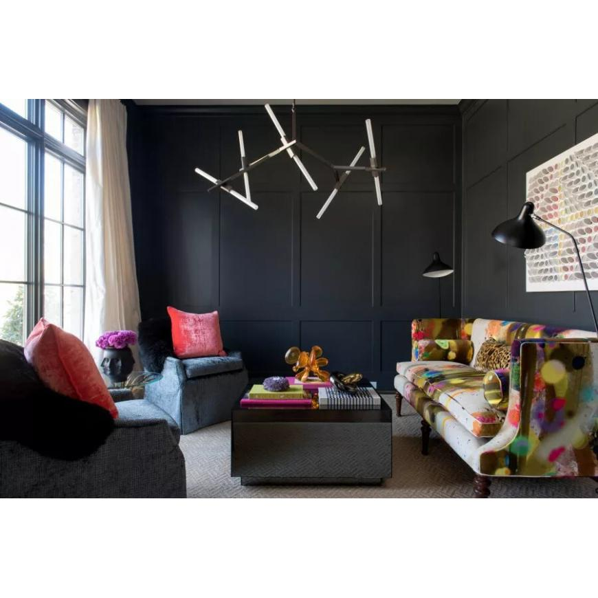 Lovely black rooms