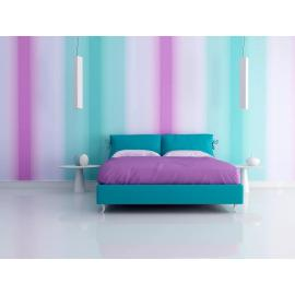 Step by step instructions to Decorate Your Bedroom with Green, Blue and Purple