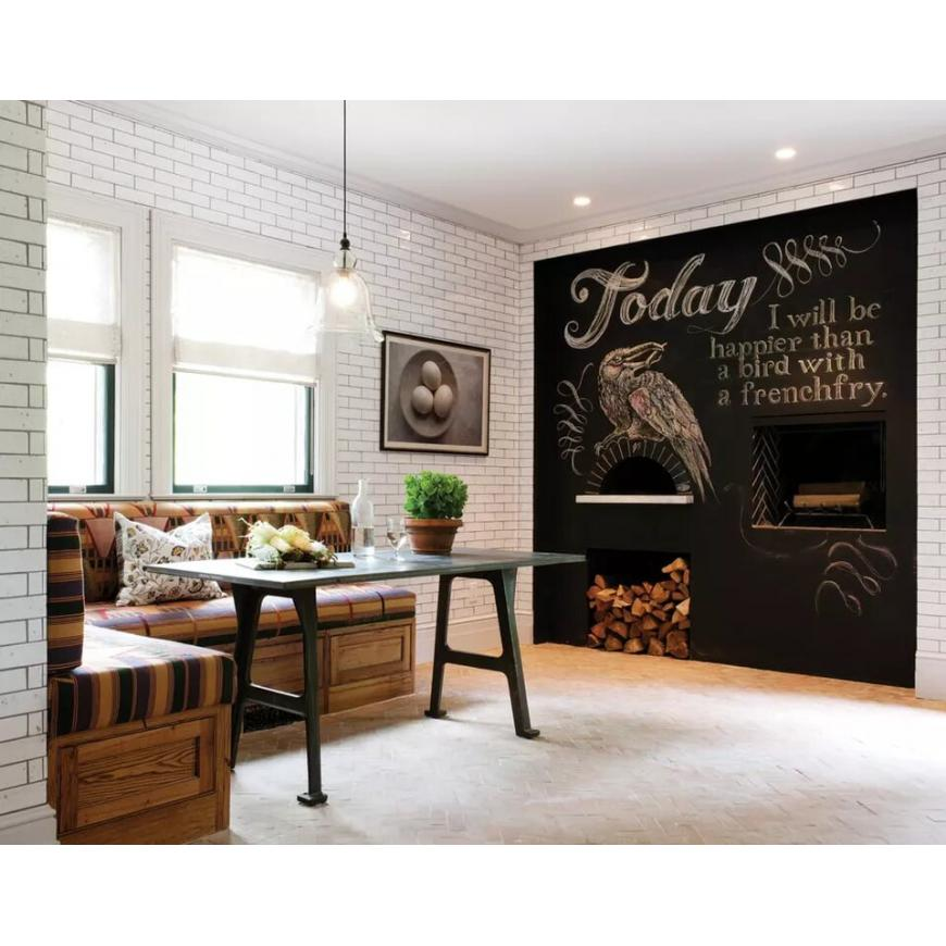 Chic Chalkboard Paint Up Space Thoughts