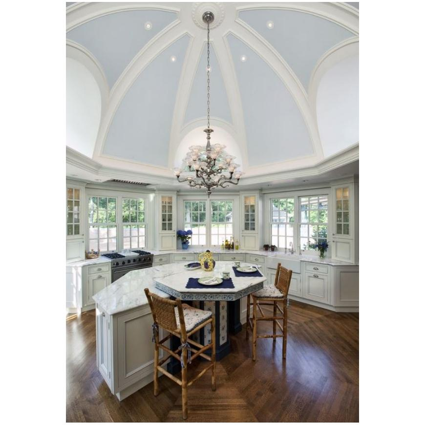 Join Arch ceilings in the plan for your home