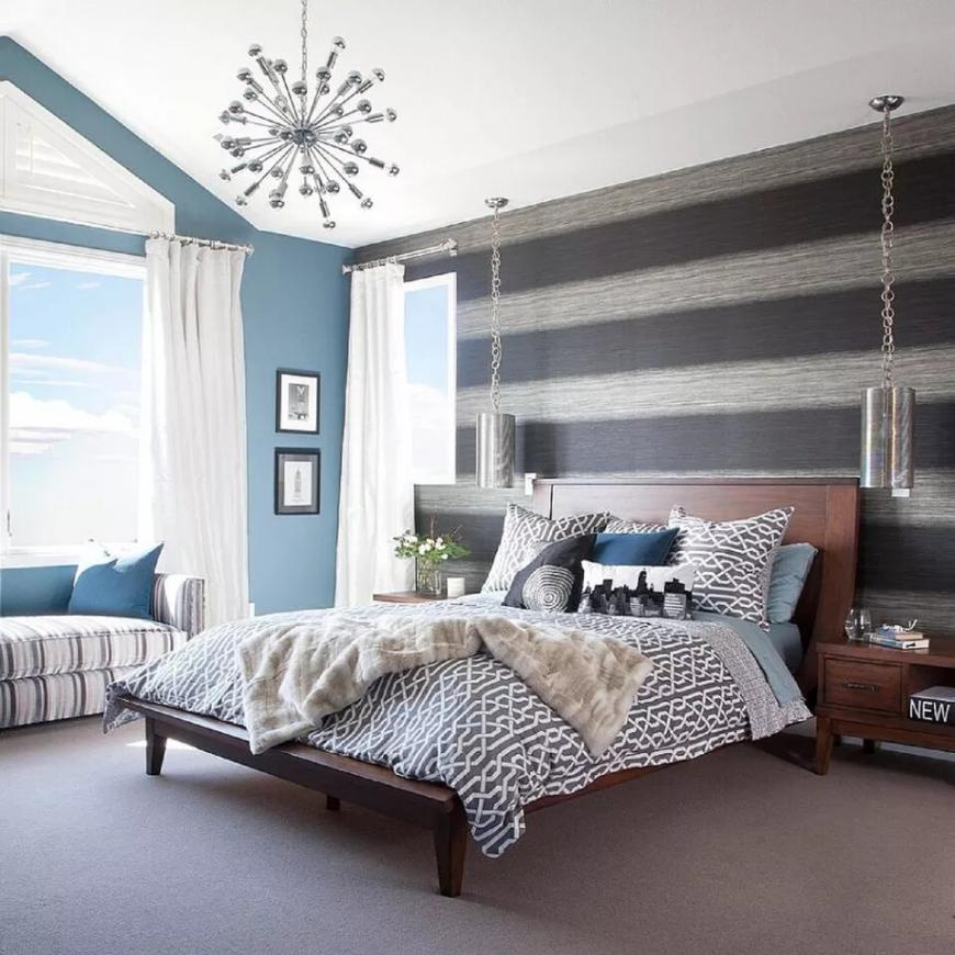How to Beautify Striped Room Dividers