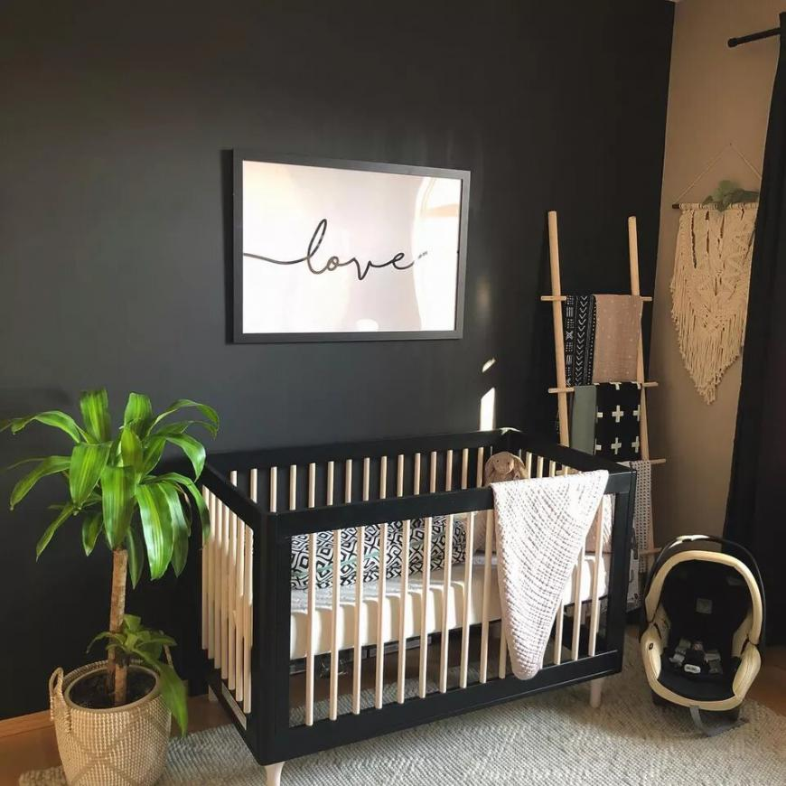 Motivating Black and White Nurseries