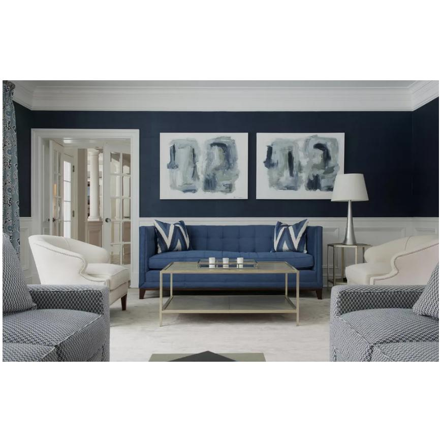 Blue Living Room Thoughts