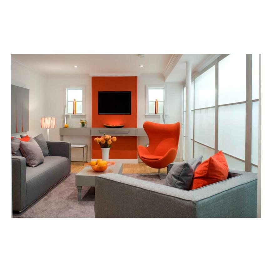 How to Beautify with Orange to Stunningly Warm Up Any Room
